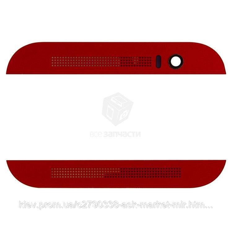 Верхня + нижня панель корпусу для HTC One M8 Original Red