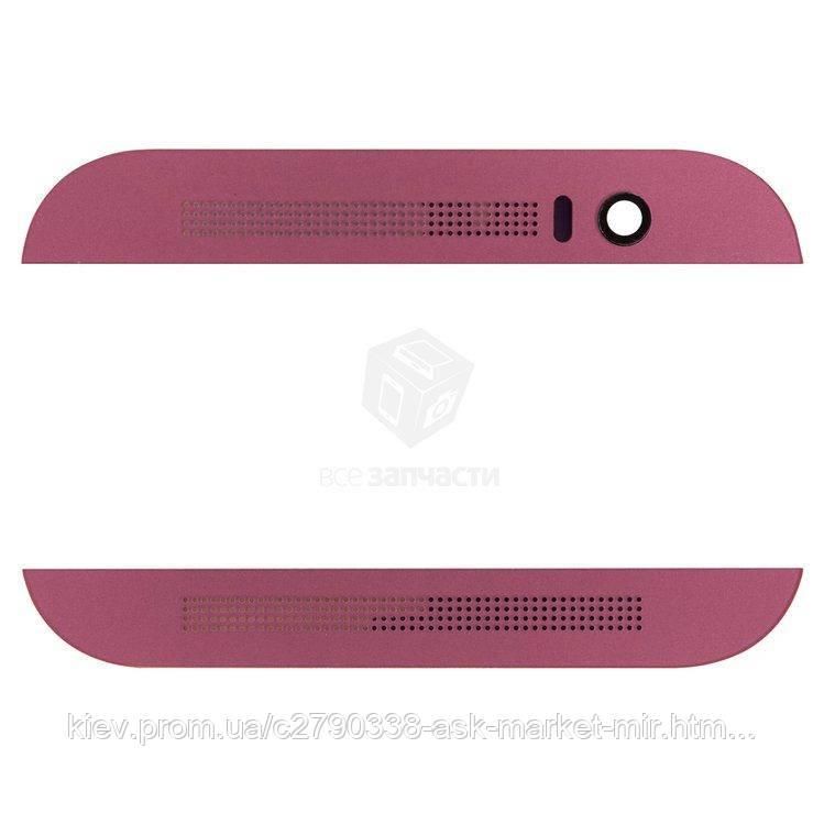 Верхня + нижня панель корпусу для HTC One M8 Original Pink