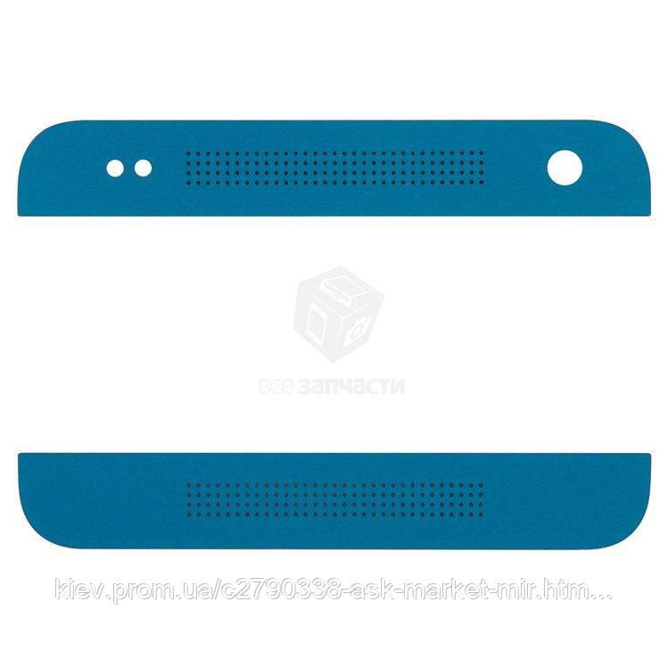 Верхня + нижня панель корпусу для HTC One mini 601n Original Dark Blue