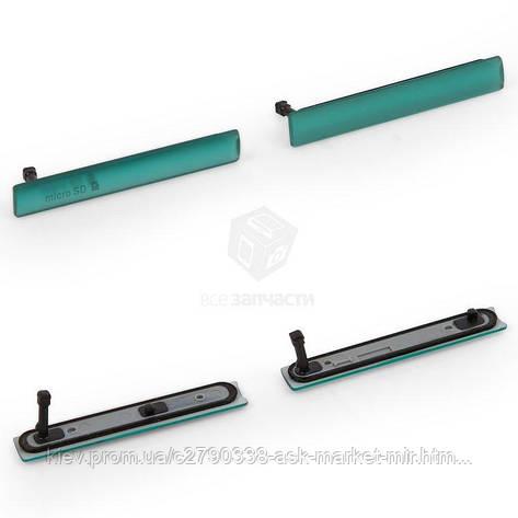 Комплект заглушок для Sony Xperia Z3 Compact (D5803, D5833) Original Green, фото 2