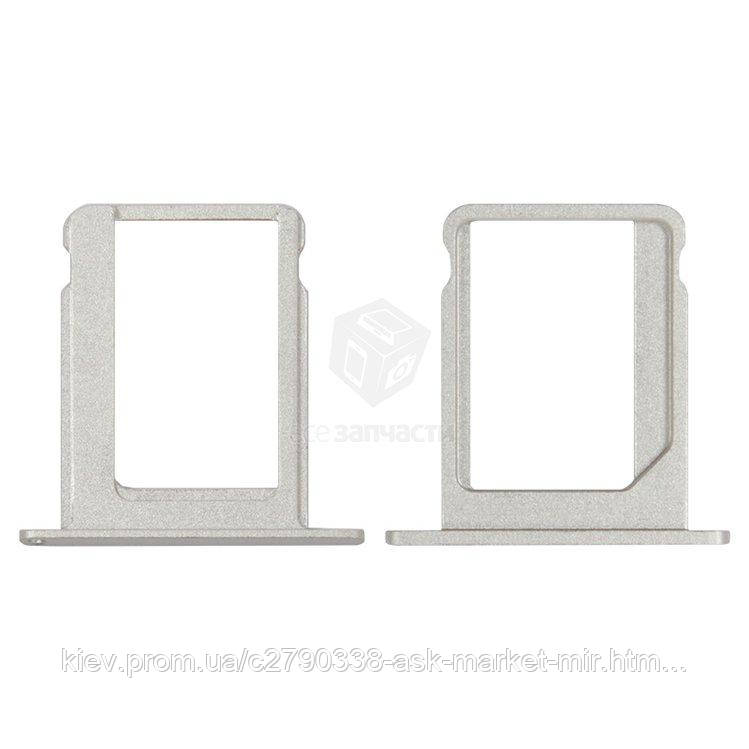 Держатель SIM-карты для Apple iPad Original Silver