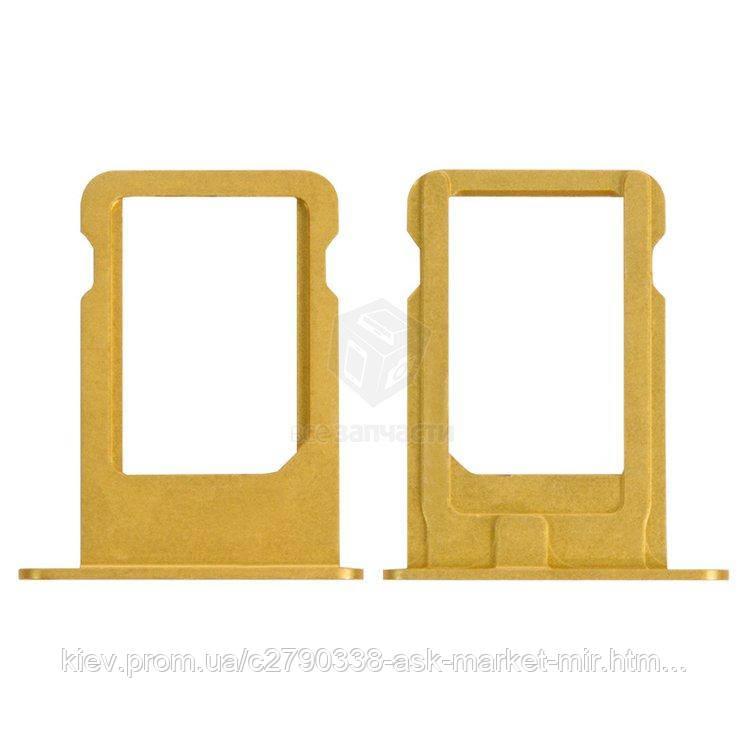 Держатель SIM-карты для Apple iPhone 5 Original Gold