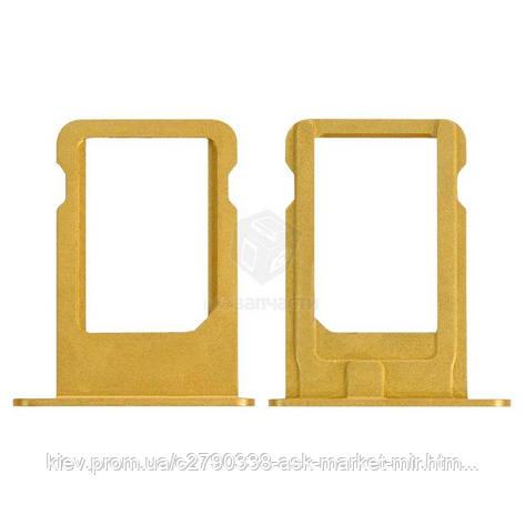 Держатель SIM-карты для Apple iPhone 5 Original Gold, фото 2
