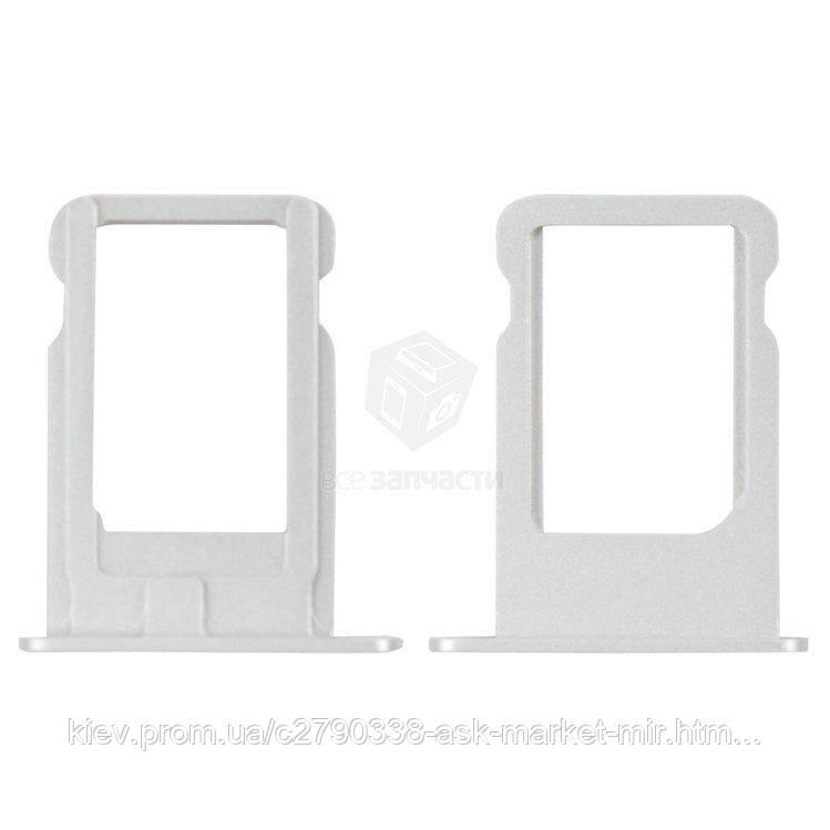 Держатель SIM-карты для Apple iPhone 5 Original Silver