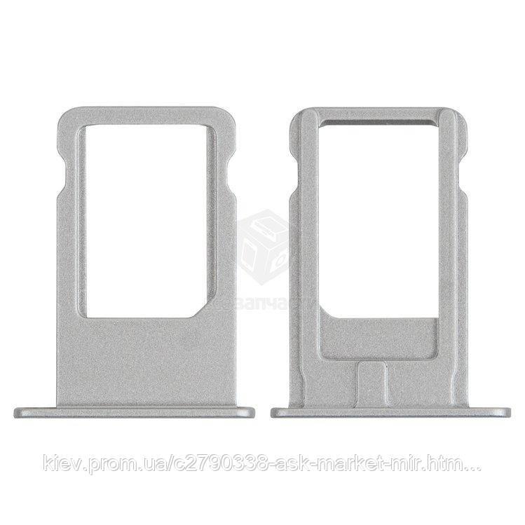Держатель SIM-карты для Apple iPhone 6 Plus Original White