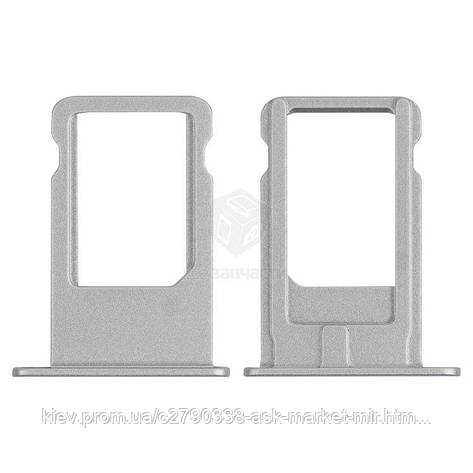 Держатель SIM-карты для Apple iPhone 6 Plus Original White, фото 2