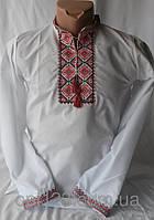 Нарядная сорочка вышиванка для мальчика подростка