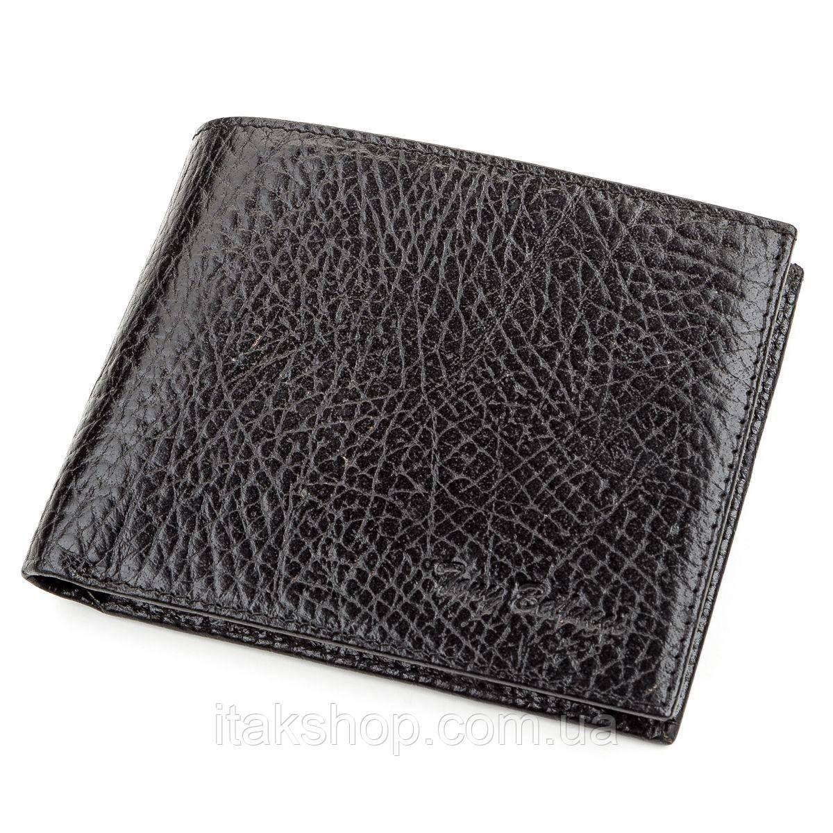 Кошелек мужской Tony Bellucci 17202 кожаный Черный, Черный