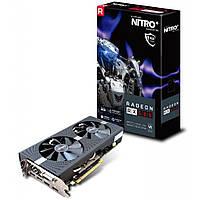 """Видеокарта Sapphire Radeon RX 580 4GD5 NITRO+ (11265-07) """"Over-Stock"""" Б\У"""