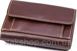 Кошелек мужской Vintage 14595 кожаный Коричневый, Коричневый, фото 2
