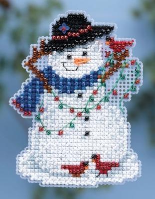 Набор для вышивки Mill Hill Snow Fun