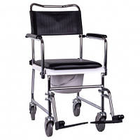 Кресло-каталка с санитарным оснащением OSD-JBS367A