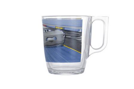 Набор посуды для детей LUMINARC Disney Cars McQueen 3 предмета Стекло (N5280), фото 2