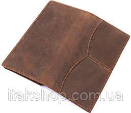 Бумажник мужской Vintage 14615 Коричневый, Коричневый, фото 2