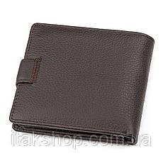 Мужской кошелек ST Leather 18347 (ST153) функциональный Коричневый, Коричневый, фото 2