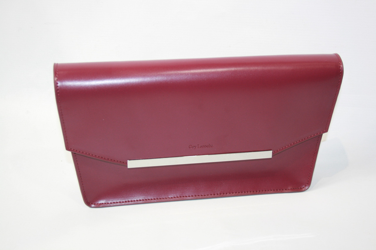 (Уценка) Клатч женский Guy Laroche цвет бордовый размер - арт (УЦ)20705BAA80501