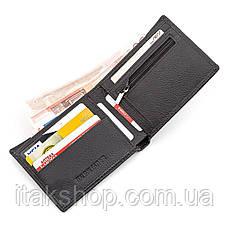 Мужской кошелек ST Leather 18352 (ST-1) натуральная кожа Черный, Черный, фото 2