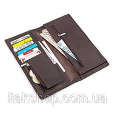 Мужской купюрник ST Leather 18368 (ST148) функциональный Коричневый, Коричневый, фото 2