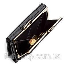 Кошелек женский ST Leather 18373 (S1201A) средний размер Черный, Черный, фото 3