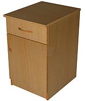 Тумба приставная (ящик+двери)