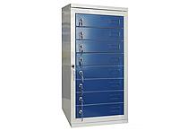 Шкаф металлический абонентский ША-20 Н755х400х248 мм