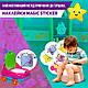 Наклейка навчальна для горщика Багаторазова Magic Sticker 3шт, Стікер Термонаклейка Метелик Монстрик Курча, фото 2