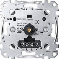 Механизм поворотного светорегулятора Merten 40...600 Вт, R, L (MTN5133-0000)