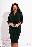 Стильное платье   (размеры 50-56) 0208-76, фото 3