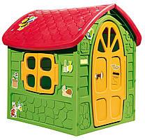 Детский игровой домик Play House Dorex 5075  (Садовый домик для улицы и дома)