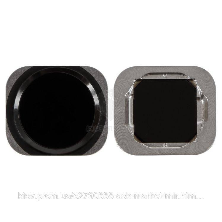 Кнопка меню HOME для Apple iPhone 6, iPhone 6 Plus, iPhone 6S, iPhone 6S Plus Black Original