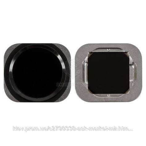 Кнопка меню HOME для Apple iPhone 6, iPhone 6 Plus, iPhone 6S, iPhone 6S Plus Black Original, фото 2