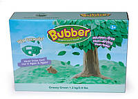Смесь для лепки Bubber зеленая, оригинальный пакет  0,6 кг Waba Fun (140-705/1)