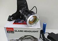 Налобный тактический фонарик Bailong BL-T619-T6 HeadLamp