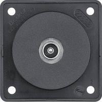 Розетка Berker Integro, TV, пайка, черный (9451115)