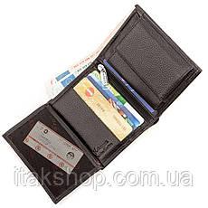 Кошелек мужской KARYA 17242 кожаный Черный, Черный, фото 3