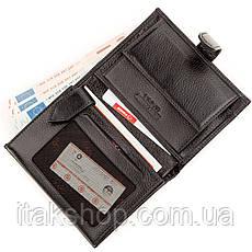 Кошелек мужской KARYA 17242 кожаный Черный, Черный, фото 2