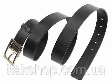 Ремень GRANDE PELLE 00239 кожаный Черный, Черный, фото 2