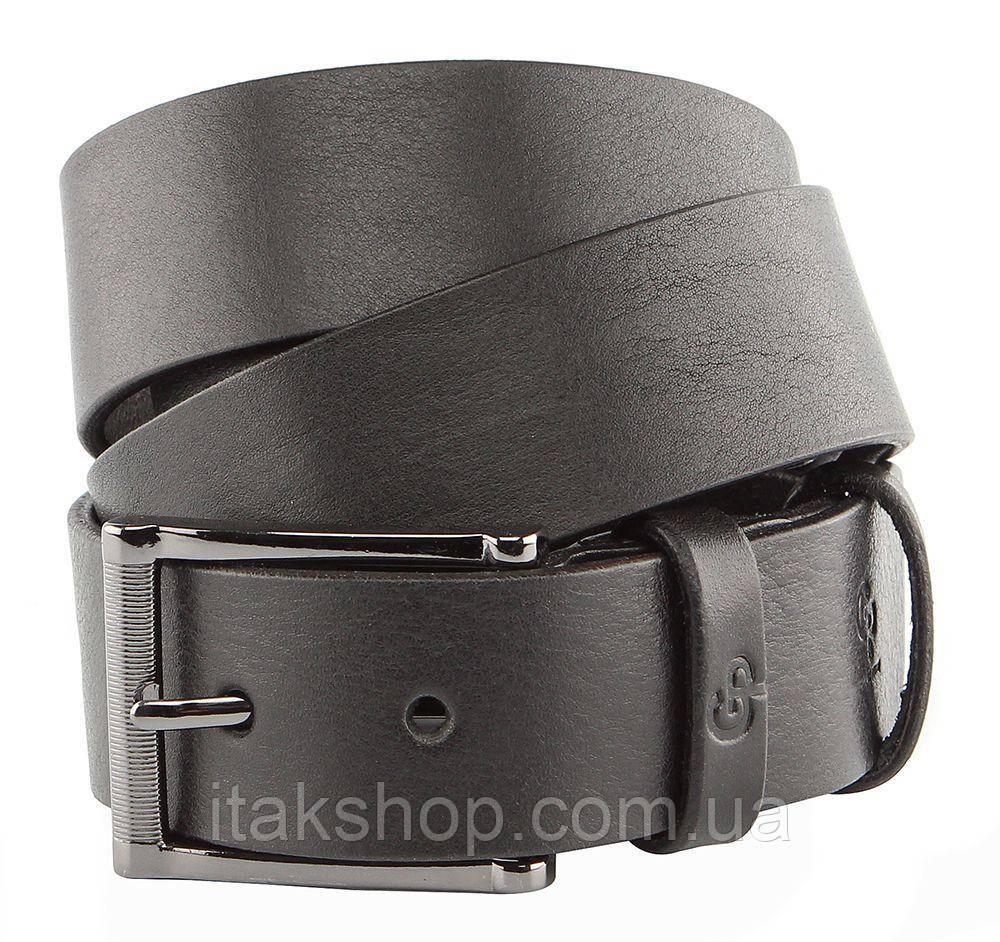 Ремень мужской GRANDE PELLE 00240 брючный Черный, Черный