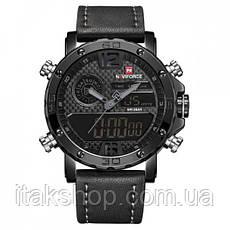 Мужские наручные часы Naviforce Next Black 9134, фото 3