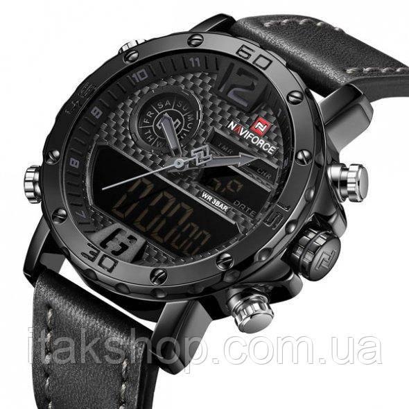 Мужские наручные часы Naviforce Next Black 9134