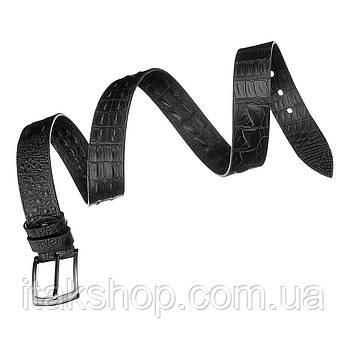 Ремень джинсовый MAYBIK 15273 Черный, Черный, фото 2