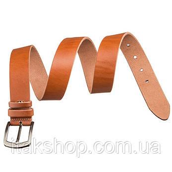 Ремень SHVIGEL мужской 17311 Светло-коричневый, Коричневый, фото 2