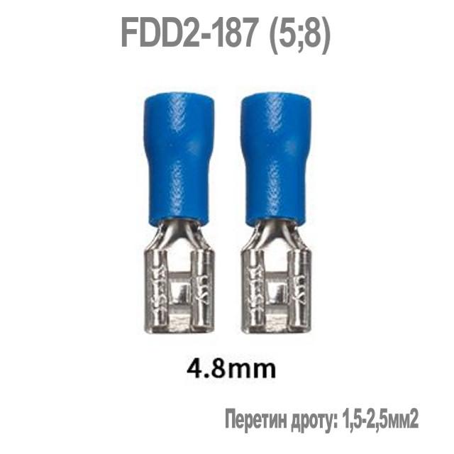 Коннектор плоский FDD2-187