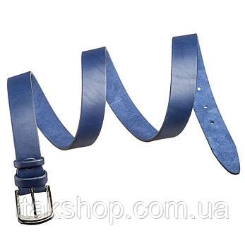 Ремень SHVIGEL 17324 Синий, Синий, фото 2