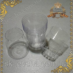 Набор стаканов одноразовых 200 мл. 25 шт./уп.