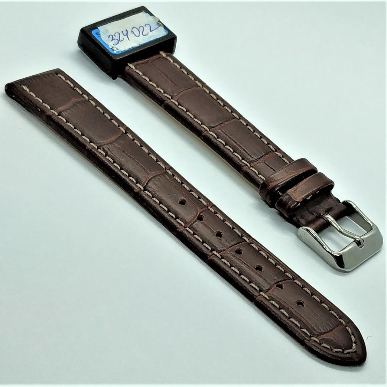 18 мм Кожаный Ремешок для часов CONDOR 518L.18.02 Коричневый Ремешок на часы из Натуральной кожи удлиненный