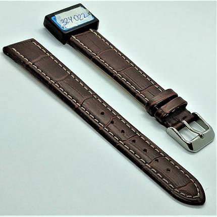 18 мм Кожаный Ремешок для часов CONDOR 518L.18.02 Коричневый Ремешок на часы из Натуральной кожи удлиненный, фото 2
