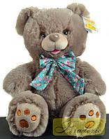 Мягкая игрушка Медведь с бантом 25 см 7205-25 (Темный)