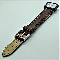 18 мм Кожаный Ремешок для часов CONDOR 518L.18.02 Коричневый Ремешок на часы из Натуральной кожи удлиненный, фото 3