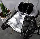Женский двухсторонний пуховик с капюшоном, фото 10